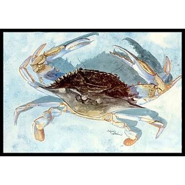 Caroline's Treasures Crab Doormat; 2' x 3'