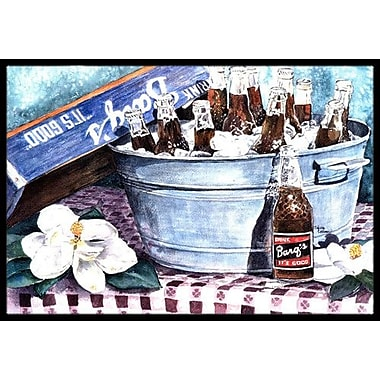 Caroline's Treasures Barq's and Old Washtub Doormat; Rectangle 1'6'' x 2' 3''