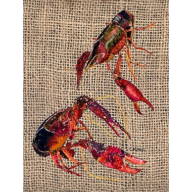 Caroline's Treasures Crawfish House Vertical Flag