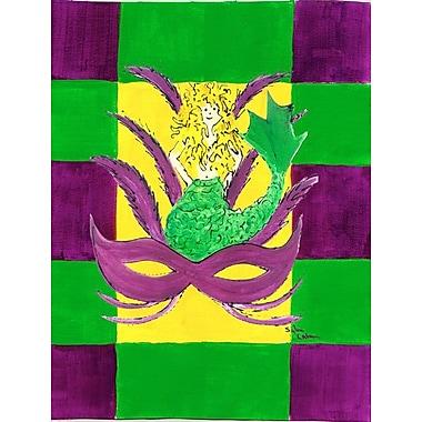 Caroline's Treasures Mardi Gras 2-Sided Garden Flag