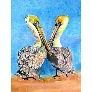Caroline's Treasures Pelican 2-Sided Garden Flag