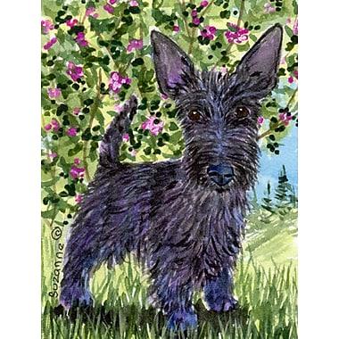 Caroline's Treasures Scottish Terrier 2-Sided Garden Flag