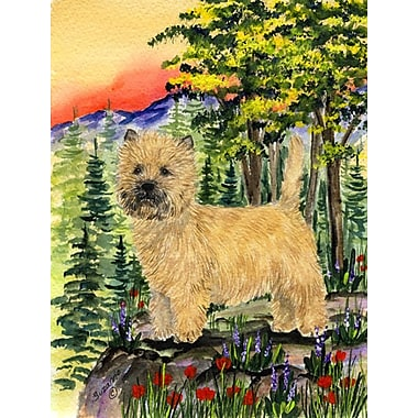 Caroline's Treasures Cairn Terrier House Vertical Flag