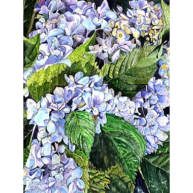 Caroline's Treasures Hydrangea House Vertical Flag