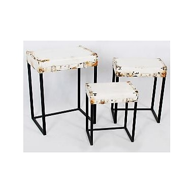 TLC Home Harrison 3 Piece Nesting Tables