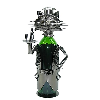 Three Star Cat Server 1 Bottle Tabletop Wine Rack