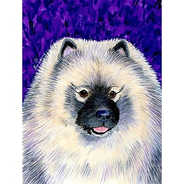 Caroline's Treasures Keeshond 2-Sided Garden Flag