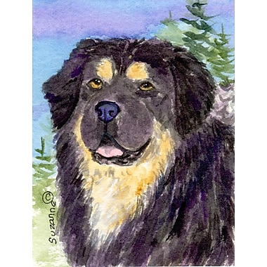 Caroline's Treasures Tibetan Mastiff 2-Sided Garden Flag