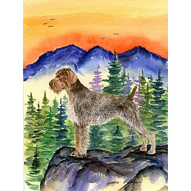 Caroline's Treasures German Wirehaired Pointer House Vertical Flag