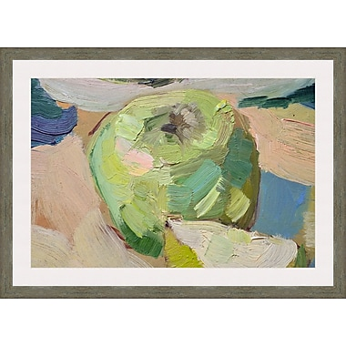 Melissa Van Hise Green Apple by Choate Design Framed Painting Print