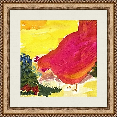 Melissa Van Hise French Chicken I by Choate Design Framed Painting Print
