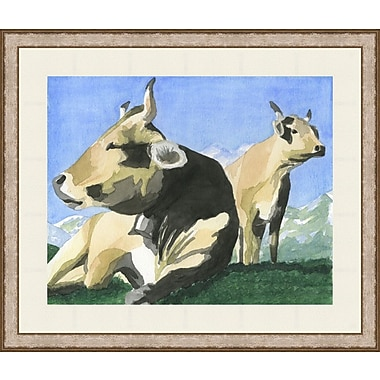 Melissa Van Hise French Cows by Choate Design Framed Graphic Art