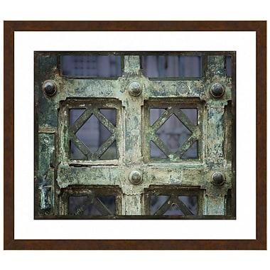 Melissa Van Hise Bronze Gate II Framed Photographic Print