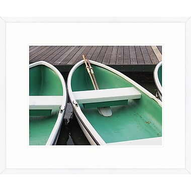 Melissa Van Hise Summer Boats II Framed Photographic Print