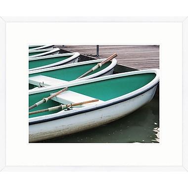 Melissa Van Hise Summer Boats III Framed Photographic Print