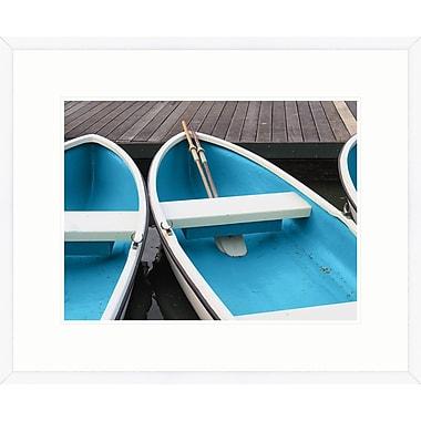 Melissa Van Hise Summer Boat II Framed Photographic Print