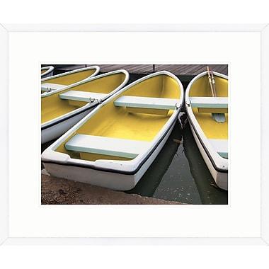 Melissa Van Hise Summer Boat I Framed Photographic Print