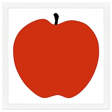Melissa Van Hise Red Apple Framed Painting Print