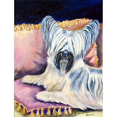 Caroline's Treasures Skye Terrier 2-Sided Garden Flag
