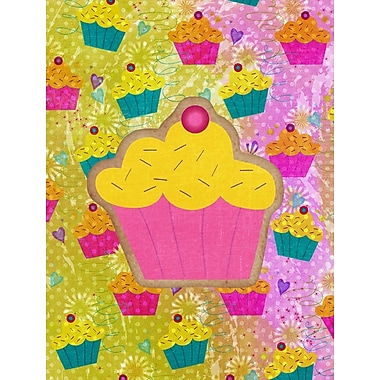 Caroline's Treasures Cupcake 2-Sided Garden Flag