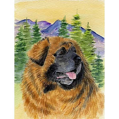 Caroline's Treasures Leonberger 2-Sided Garden Flag