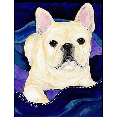 Caroline's Treasures French Bulldog 2-Sided Garden Flag