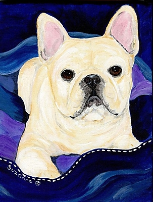 Caroline's Treasures French Bulldog House Vertical Flag