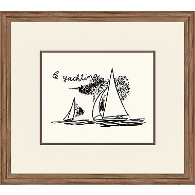 Melissa Van Hise Le Yachting Framed Graphic Art