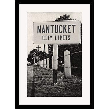 Melissa Van Hise Nantucket City Limits Framed Photographic Print