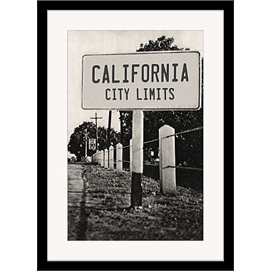 Melissa Van Hise California City Limits Framed Photographic Print