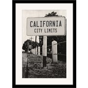 Melissa Van Hise California City Limits Framed Photographic Print
