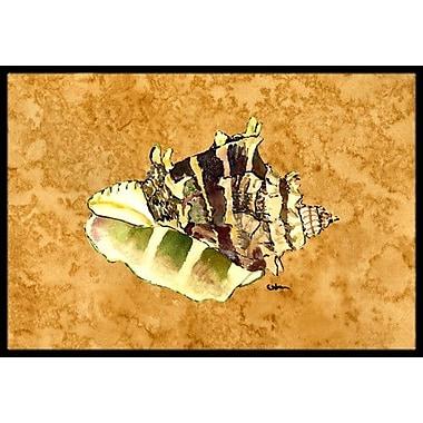 Caroline's Treasures Sea Shell Doormat; Rectangle 1'6'' x 2' 3''