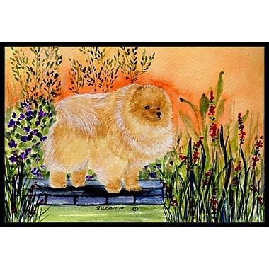 Caroline's Treasures Pomeranian Doormat; Rectangle 1'6'' x 2' 3''