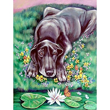 Caroline's Treasures Great Dane 2-Sided Garden Flag