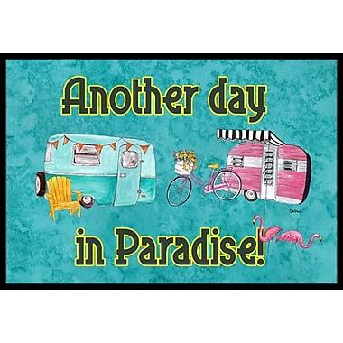 Caroline's Treasures Another Day in Paradise Doormat; Rectangle 1'6'' x 2' 3''