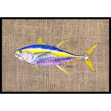Caroline's Treasures Fish Tuna Doormat; Rectangle 1'6'' x 2' 3''