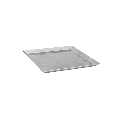 Winco Premium Display Tray; 0.63'' H x 10.25'' W x 10.25'' D