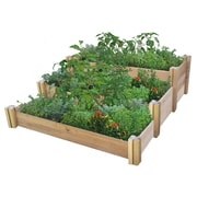 Gronomics 4.5 ft x 4.0 ft Cedar Raised Garden