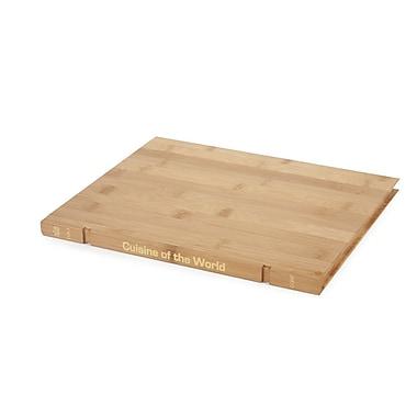 Core Bamboo Book Board - Cuisine of The World