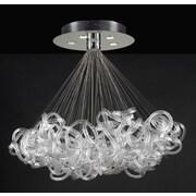 PLC Lighting Elegance 5-Light Pendant; 40''