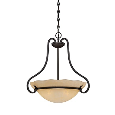 Designers Fountain Lauderhill 3-Light Inverted Pendant