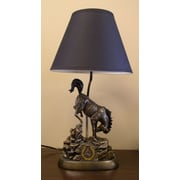 Tailgate Toss NFL 19'' Table Lamp; Indianapolis Colts
