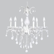 Jubilee Collection Glitz 6-Light Crystal Chandelier