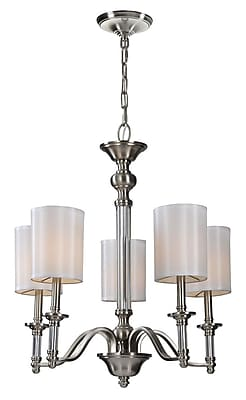 Ren-Wil Rosa 5 Light Mini Chandelier