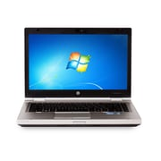 "HP Refurbished Elitebook (8460P) Laptop, 14"", 2.5GHz Intel core i5-2520M, 4GB RAM, 128GB SSD, Windows 10 Pro, Bilingual"