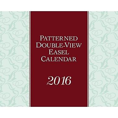 BrownTrout Publishers – Calendrier de bureau 2016, 12 mois, type chevalet, double vue, motifs, anglais