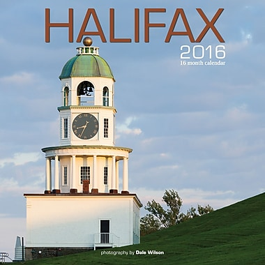 BrownTrout Publishers – Calendrier mural 2016, 12 mois, Halifax, 12 x 12 po, anglais