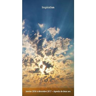 BrownTrout Publishers – Agenda de poche, 2 ans, Inspiration, français