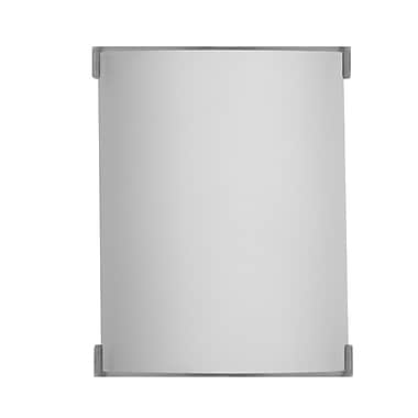 Philips Edge 1-Light Wall Sconce; 1 x 13W Quad Pin G24Q-1 CFL