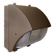 Barron Lighting Induction Lighting 277 Volts Semi-Cutoff 1-Light Outdoor Wall Light in Bronze
